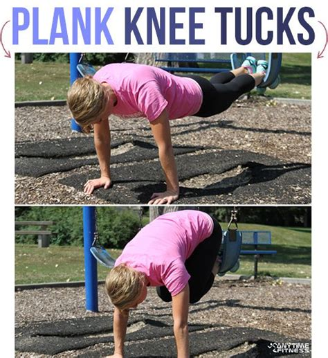 workout park playground plank body knee exercise tucks swing workouts using outdoor trx parks motivation exercices fitfoodiefinds