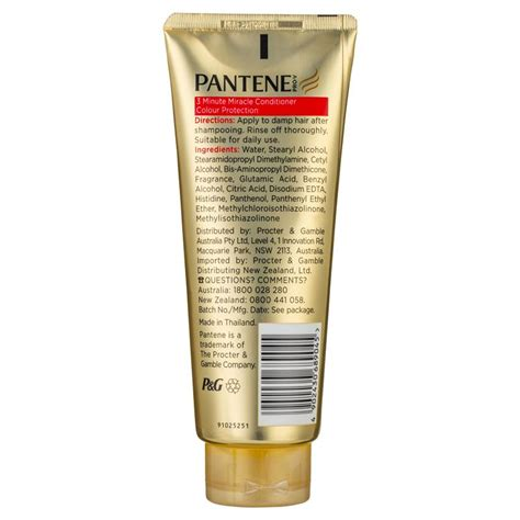 Harga Pantene Conditioner 3 Minute Miracle buy pantene 3 minute miracle colour protection conditioner
