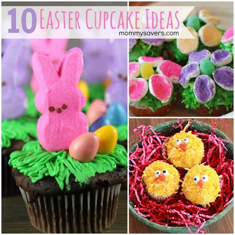 Decorating Ideas For Easter Cupcakes by Easter Cupcakes 10 Easy Easter Cupcake Ideas Mommysavers