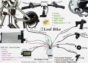 12 Inch 24v 250w Rear Bldc Hub Motor Electric Bike Conversion Kit