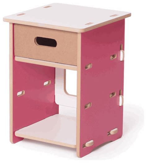 childrens bedside table ls children 39 s night stand pink contemporary nightstands