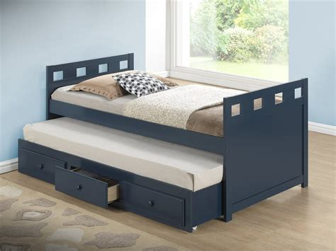 beds with trundle bed with pull out slide out trundle bed underneath 10809