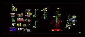 Electrical Details In Area Classified DWG Detail for