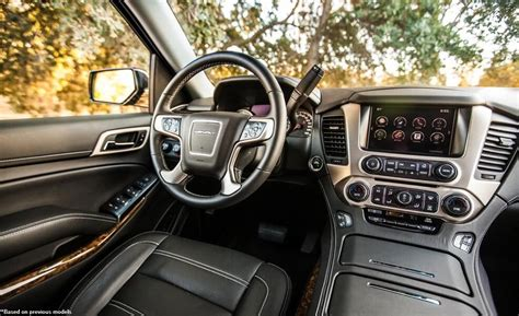 Gmc 2019 Gmc Yukon Interior Photos  2019 Gmc Yukon Xl