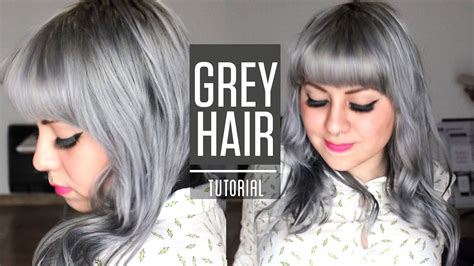 How To Get Silver Grey Hair / Roux Fancifull 41 True Steel
