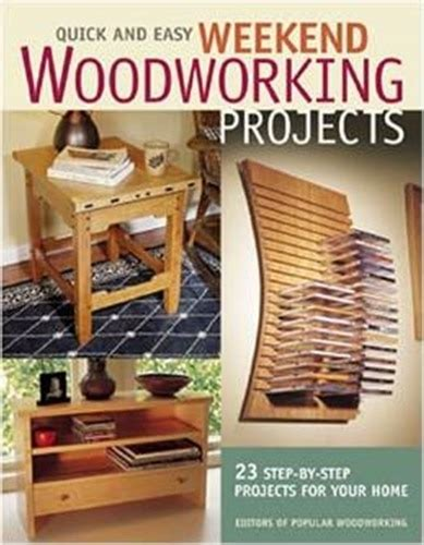 quick  easy weekend woodworking projects