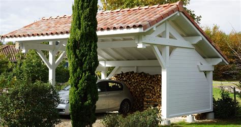 abri bois voiture entreprise coste solutions pour l habitat