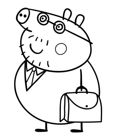 peppa pig daddy pig   work bag