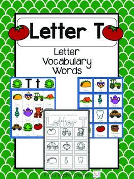 words with letter t letter t vocabulary cards by the tutu teachers 25759 | original 2155447 1