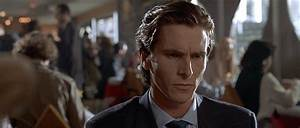 Uninterested American Psycho GIF - Find & Share on GIPHY