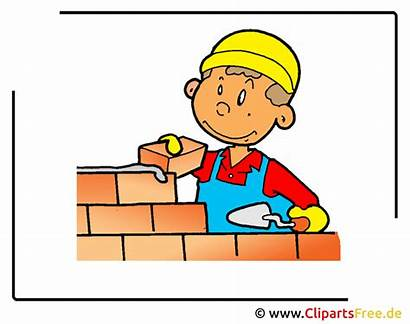 Clipart Baumeister Bauarbeiter Bauen Beruf Cartoon Gratis