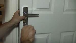 how to fit door handles ultimate handyman diy tips youtube With how to remove a bathroom door handle with lock