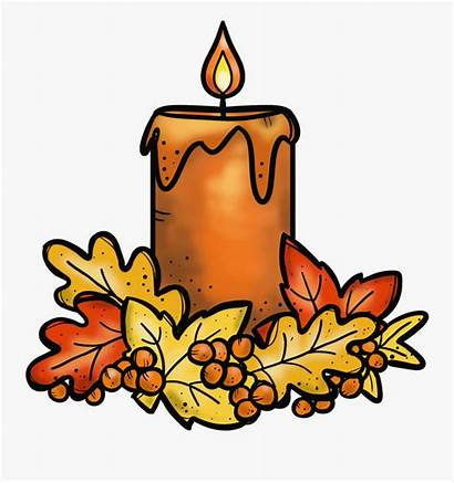 Candle Clipart Thanksgiving Cliparts Several Transparent Options