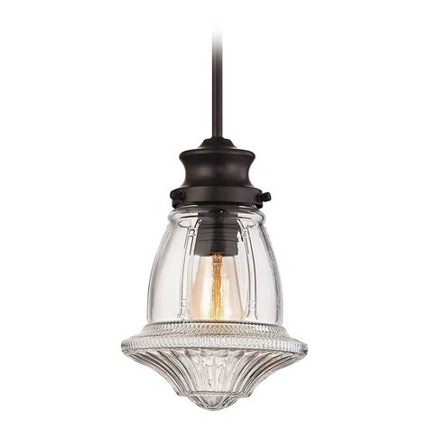schoolhouse pendant light elk lighting schoolhouse pendants rubbed bronze mini