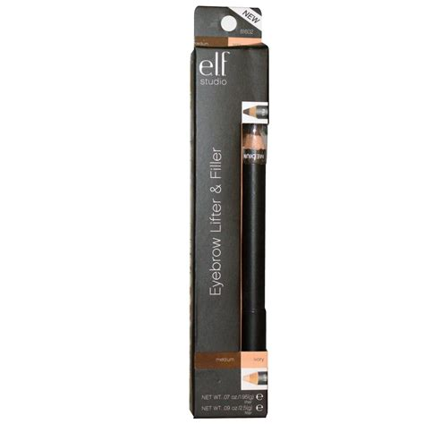 e l f eyebrow lifter filler ivory medium 07 oz 1 95 g 0 9 oz 2 5 g iherb