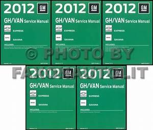 2012 Express Van Owners Manual Original