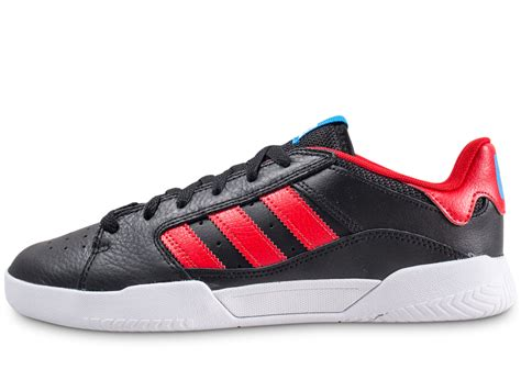 adidas vrx cup  noir  rouge chaussures baskets homme chausport