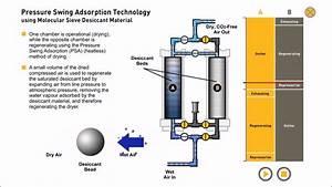 Pressure Swing Adsorption  Compressed Air Drying  U0026 Nitrogen Generation  Animation