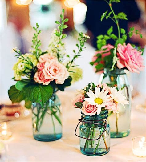 Pretty Summer Wedding Centerpiece Ideas Wedding Stuff Ideas