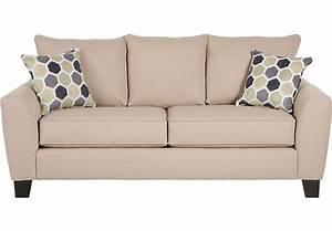 Bonita springs beige sleeper sofa sleeper sofas beige for Beige leather sectional sofa sale