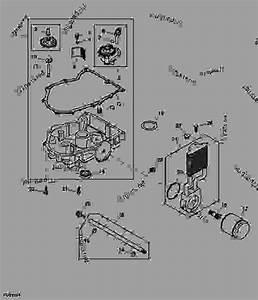 Engine Oil Pump And Filter - Z-trak John Deere Z925a - Z-trak