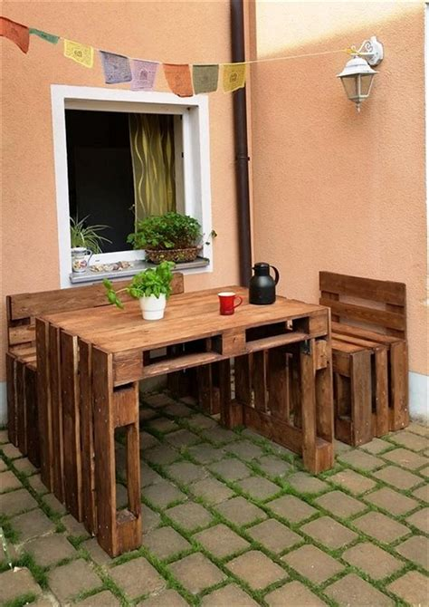 wooden pallet outdoor furniture ideas pallet wood projects