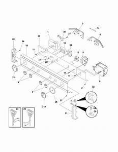 Control Panel Diagram  U0026 Parts List For Model Flse72gcsb
