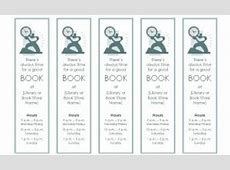 Bookmark Template Bookmark Template for Word