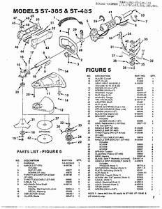 Homelite String Trimmer Parts