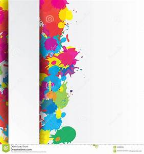 Indian Festival Background With Colors Splash Stock Vector ...