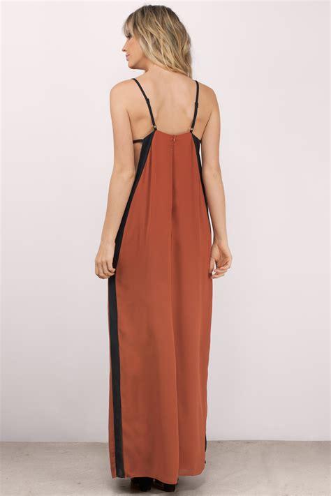 color block maxi dress mauve maxi dress color block dress purple dress 34 00