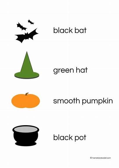 Halloween Sentences Match Words Register Premium Learn