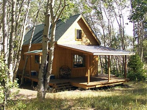 Build Small Cabin In Woods Small Cabin Building Plans