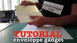 Comment Fabriquer Une Enveloppe : comment faire une enveloppe gadget en papier youtube ~ Melissatoandfro.com Idées de Décoration