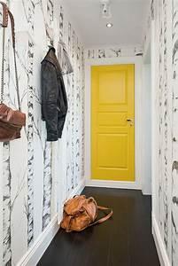 Tendance Papier Peint Couloir : peinture porte int rieure 10 id es relooking c t maison ~ Melissatoandfro.com Idées de Décoration