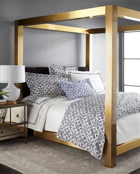 37037 gold canopy bed high end beds for a winter s nap