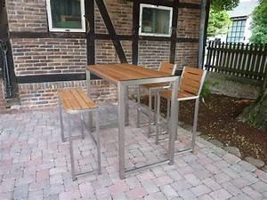 Bartisch Set Holz : garten bartisch set erstklassige angebote jenverso ~ Indierocktalk.com Haus und Dekorationen