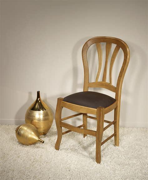 chaise en chene chaise en chêne massif de style louis philippe assise
