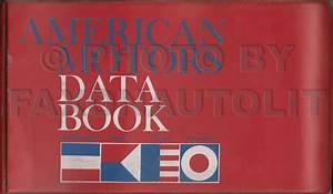 1966 Amc Rambler American Repair Shop Manual Original