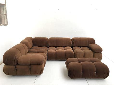 chocolate brown sofas for sale chocolate brown mario bellini quot camaleonda 39 39 modular sofa