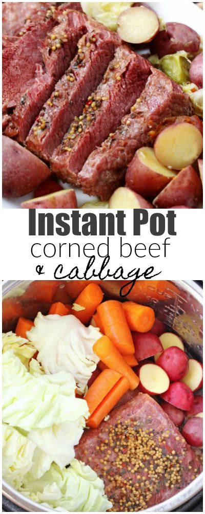 Thanks to instant pots making corned beef became easier and easier through time. Instant Pot Corned Beef and Cabbage - Favorite Family Recipes