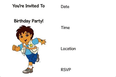 Printable Birthday Invitations (17) Coloring Kids