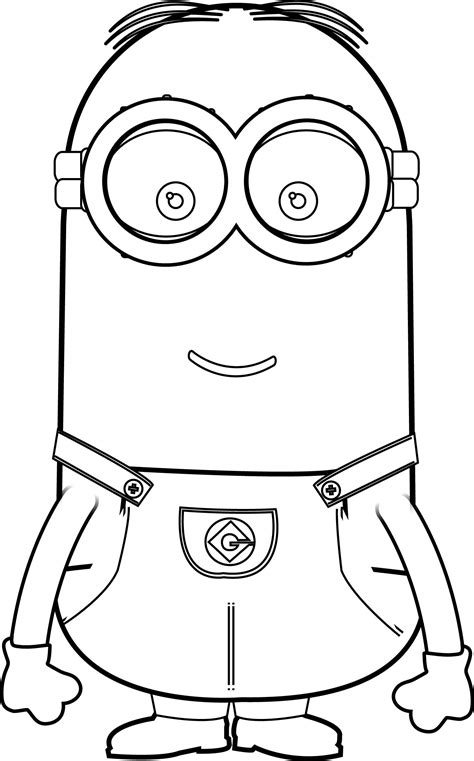 Minions Coloring Pages Kevin Murderthestout