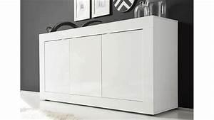 Sideboard 160 Cm Weiss : sideboard basic kommode wei lackiert b 160 cm ~ Bigdaddyawards.com Haus und Dekorationen