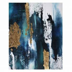 blue and gold abstract art With what kind of paint to use on kitchen cabinets for pink and gold canvas wall art