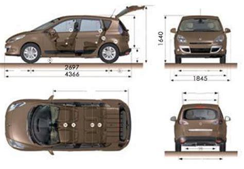 dimension coffre scenic 2 dimension scenic 2 grand scenic eurogroup rod slater 39 s eurocars and eurodrive renault