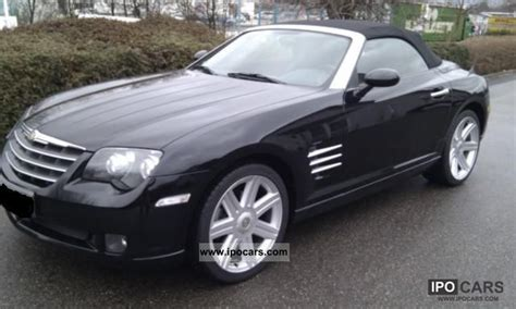 chrysler crossfire cabrio 2007 chrysler crossfire roadster car photo and specs