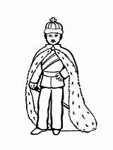 King Coloring Pages Arthur Printable Getcolorings sketch template