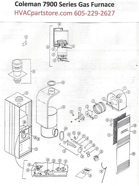 7970 856 coleman gas furnace parts hvacpartstore