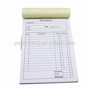 ncr invoice book sample purchase order form buy With personal invoice book